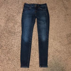 American eagle super stretch jegging's size 2